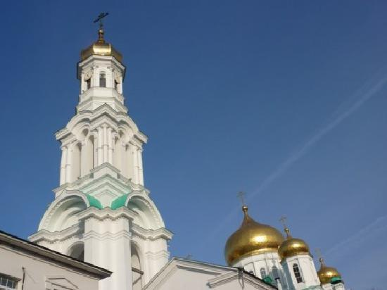 Rostov-on-Don, Russia: Church and clock tower
