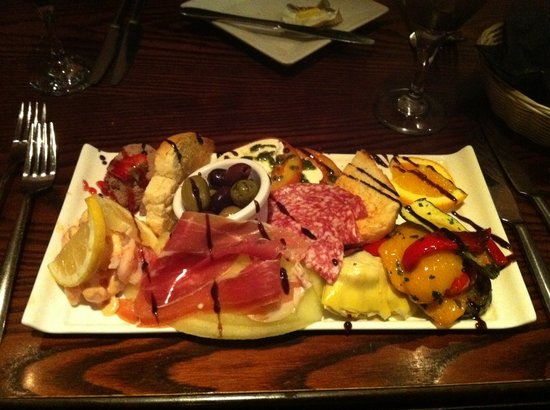 Whitley Bay, UK: Antipasto - yes, this is a starter!
