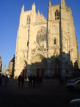 Nantes, France : la cathédrale