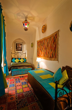 Riad Dar Eliane: Bedroom Warda