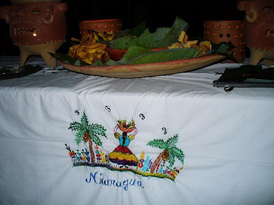 Managua Hills Bed and Breakfast: farewell dinner