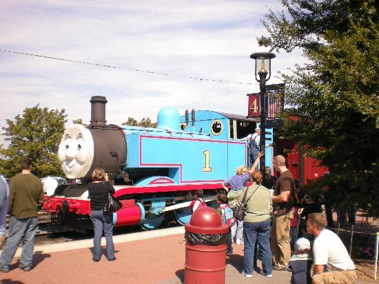 Strasburg, : Thomas the train