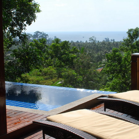 The Place Luxury Boutique Villas: Balcony and Private Infinity Plunge Pool