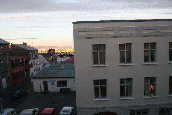 Reykjavik Downtown Hostel: View from the room