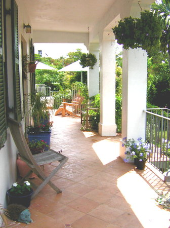 Kingston House B&B: Veranda