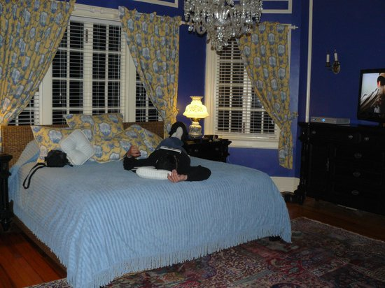 Nicholson Mansion at Fairforest Creek:                   Our Bedroom