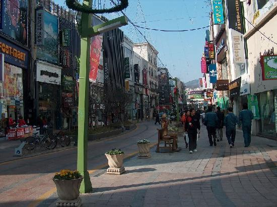 One of Busan street
