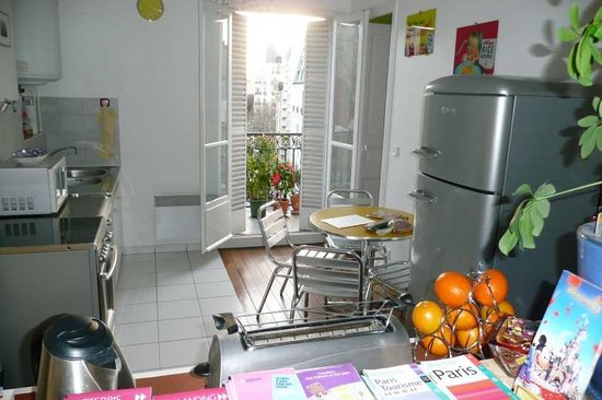 Appartement d'hotes Folie Mericourt: cuisine