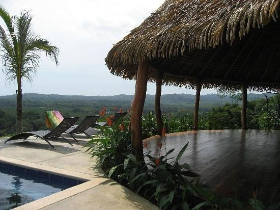 Costa Rica Yoga Spa: Yoga Pavilion &amp; Serenity Pool Overlooking Pacific Ocean