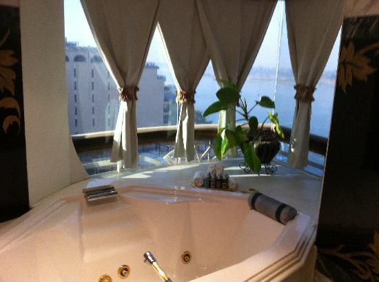 The Royal Suite Jacuzzi With A View Picture Of Sonesta St George Hotel Luxor Luxor