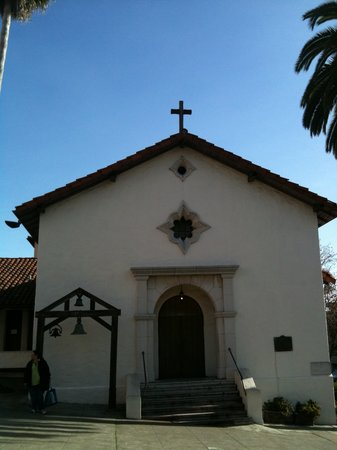 Recreated Mission San Rafael Arcangel