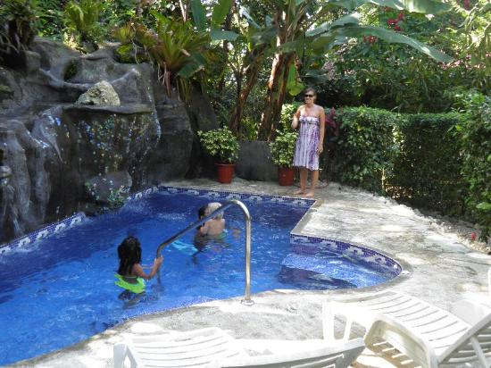 Cashew Hill Jungle Cottages: pool