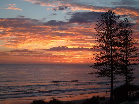 Coolum Caprice Luxury Holiday Apartments: Coolum Beach - Sunrise - Jan 2010