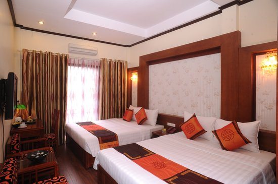 Hanoi Symphony Hotel: Family room with Big Balcony