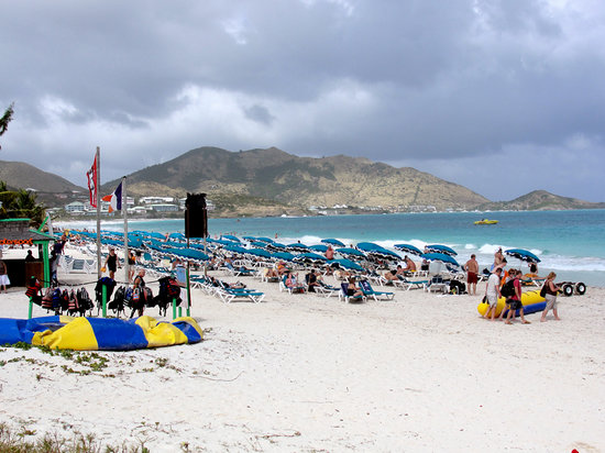 Orient Beach -- a not so nude beach today. - Picture of St