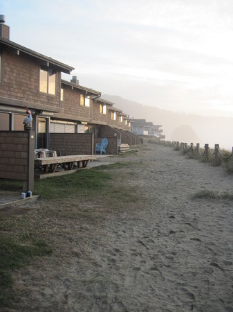 Neskowin, OR: Rear of complex, overlooking ocean