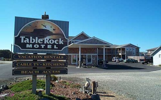 Table Rock Motel: Sign
