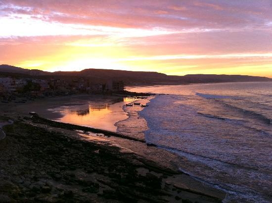 Taghazout, Morocco: Sunrise From The Office