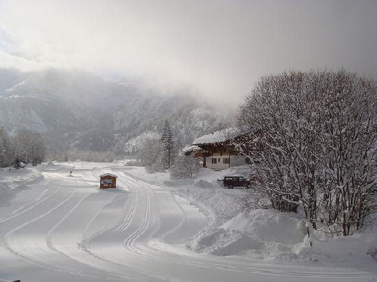 Lauenen, Switzerland: View from our room at Alpenland