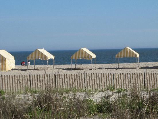 Cape May, NJ : Beach Cabannas