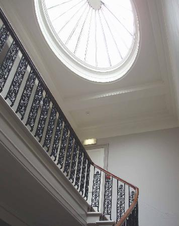 Georgian Cupola And Staircase Picture Of Abbey Hotel
