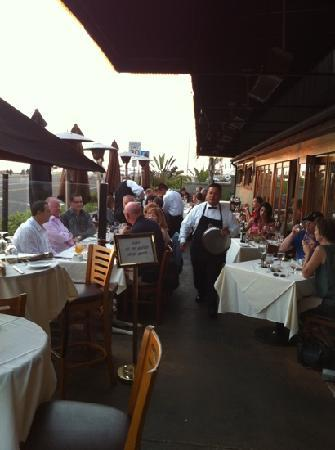 Patio picture of vigilucci 39 s seafood and steakhouse for Fish restaurant carlsbad