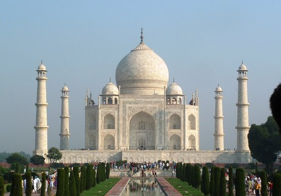 Agra, Indie: The Taj Mahal