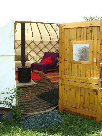 Anglesey, UK: Yurt