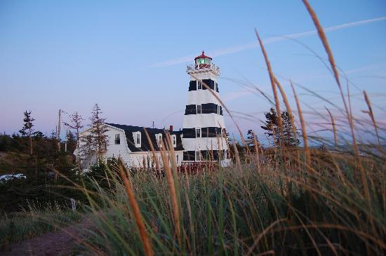 d mmerung am leuchtturm picture of west point lighthouse. Black Bedroom Furniture Sets. Home Design Ideas