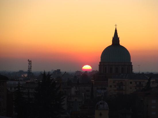 Sunset in Beautiful Udine