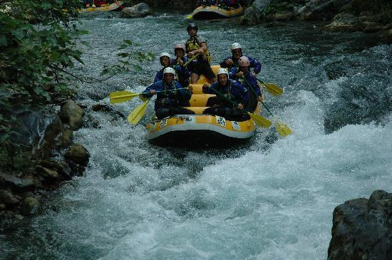 Scalea, Italien: Fiume Lao - Rafting