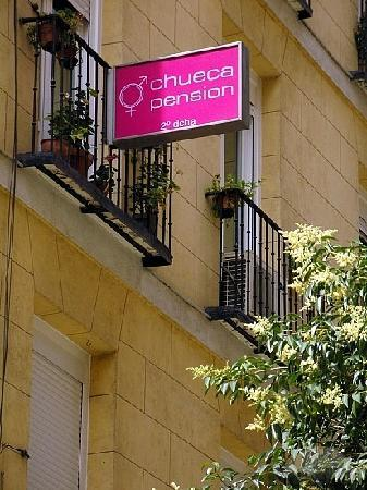 Chueca Pension : exterior do hotel 
