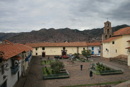 Andean South Inn: Plazoleta de San Blas