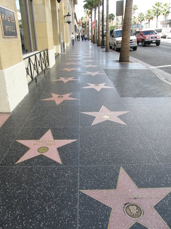 Los Angeles, Kalifornien: Walk of fame