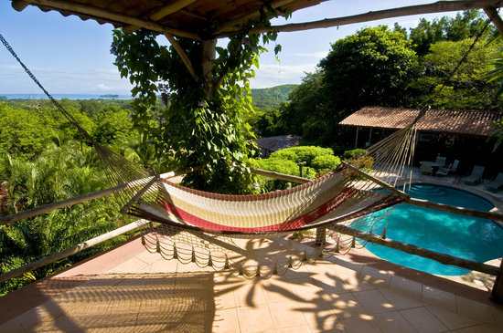Rancho Armadillo Estate: Ocean View from Hammock Lounge