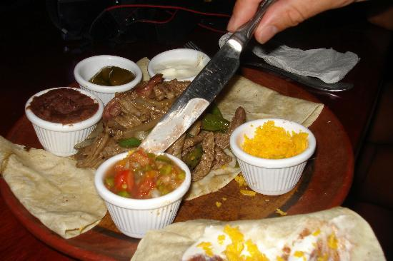 Mango Rosa Nicaragua: Fajitas