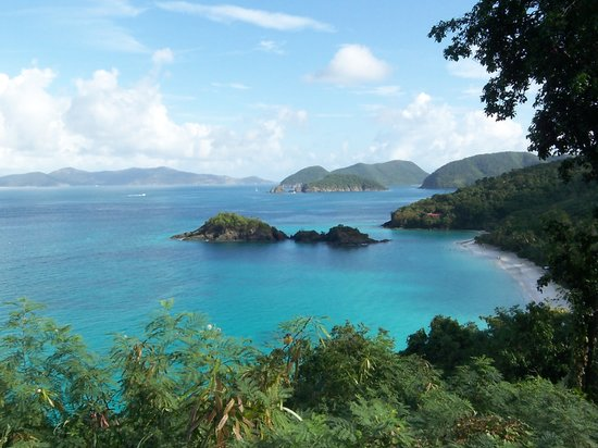 Virgin Islands National Park, Σεν Τζον: Trunk Bay, St. John, U.S. Virgin Islands