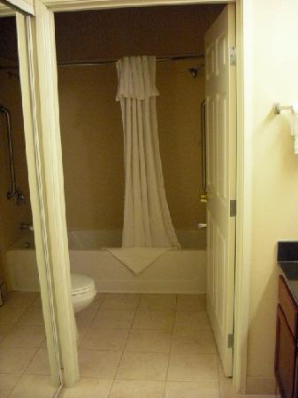 Homewood Suites by Hilton Columbus / Dublin: Bathroom