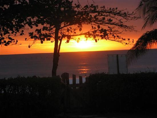 Hotel Casa Azul: Beautiful sunset every day