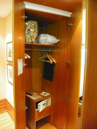 Room Safe Is Hidden In Closet Cabinet Picture Of Spata
