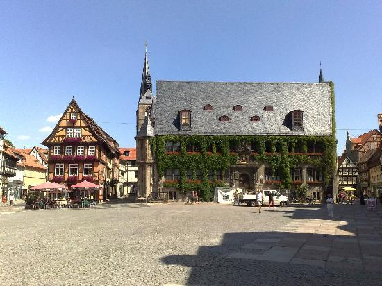 Quedlinburg, Rathaus am Markt