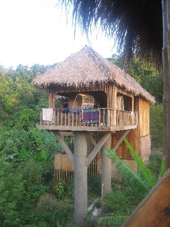 Kep, Cambodia: The large treehouse, comfortable, great views, unique