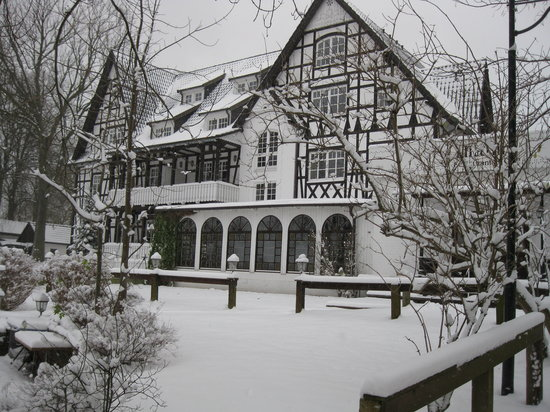 Hiddensee, Germania: Hotel Hitthim, Aussenansicht im Winter