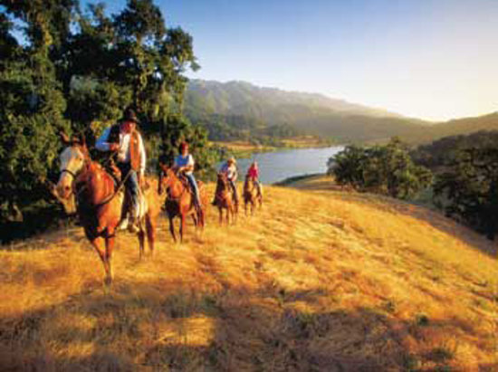 Solvang, Kalifornien: Horseback Riding