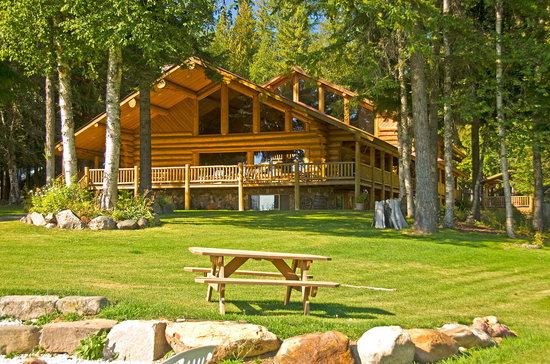 The lodge at Western Pleasure Guest Ranch