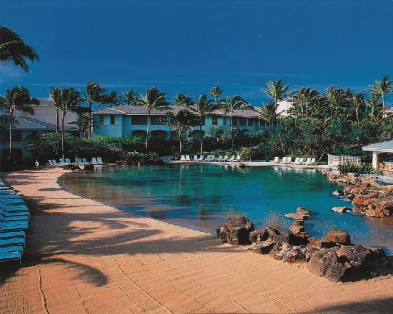 The Point at Poipu: Sales dept photo of pool