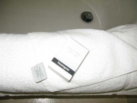 Mirabeau Park Hotel: Toiletries