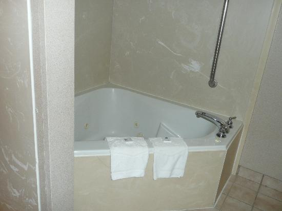 Hampton Inn Huntsville - Arsensal/South Parkway: Bath tub full view
