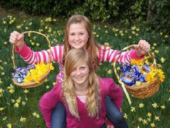 Easter Bunny Fun Picture Of Borde Hill Garden Haywards