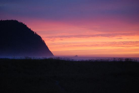 ‪‪Seaside‬, ‪Oregon‬: seaside sunset 1-2011